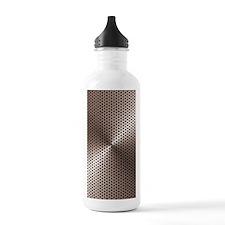 Rose Gold Metal Plate Water Bottle