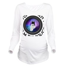 Film The Police Long Sleeve Maternity T-Shirt
