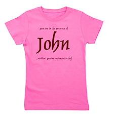 Master Chef John 1 Girl's Tee