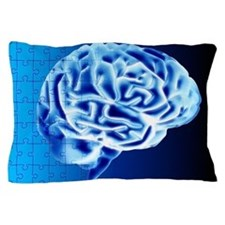 Brain puzzle Pillow Case