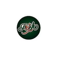 Irish Tattoo Mini Button