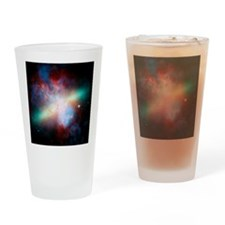 Cigar galaxy (M82), composite image Drinking Glass