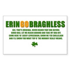 ERIN GO BRAGHLESS Rectangle Decal