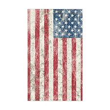 Distress USA Flag Decal