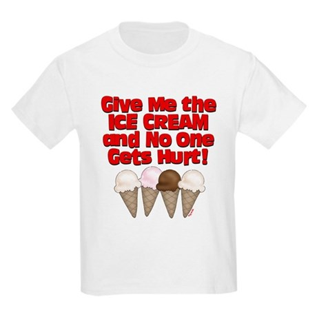 Give me Ice Cream Kids T-Shirt