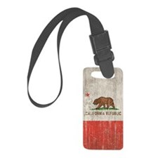 Vintage California Republic Luggage Tag