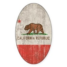 Vintage California Republic Decal