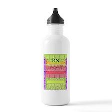 RN iphone cardiac funk Sports Water Bottle