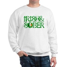 Irish And Sober Recovery Sweatshirt