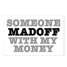 SOMEONE MADOFF WITH MY MO Postcards (Package of 8)