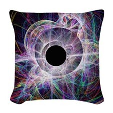 Conceptual computer artwork of Woven Throw Pillow