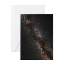 Cygnus, Lyra and the Great Rift Greeting Card