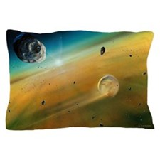 Earth's formation Pillow Case