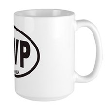 Shreveport SHVP Euro Oval Sticker Mug
