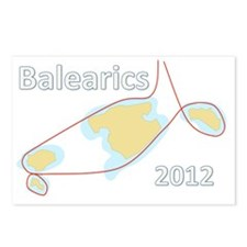 Balearics 2012 Postcards (Package of 8)