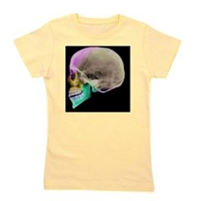 Facial nerves, X-ray Girl's Tee