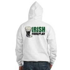 Irish Foreplay Distressed Hoodie