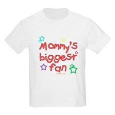 Mommy's Biggest Fan Kids T-Shirt