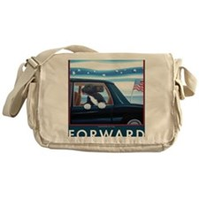 Forward with Bo, the 1st Dog Messenger Bag