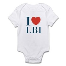 I Love LBI Infant Bodysuit