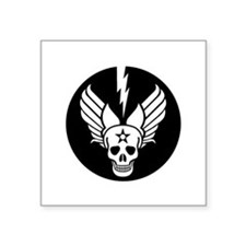 "Death From Above - Mors Ab  Square Sticker 3"" x 3"""