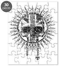 Eternal Edge-NWOBHM Skull (grey vintage) Puzzle