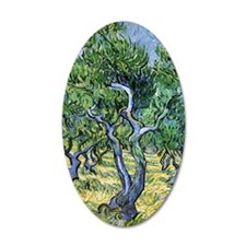 Van Gogh Olive Grove Wall Decal