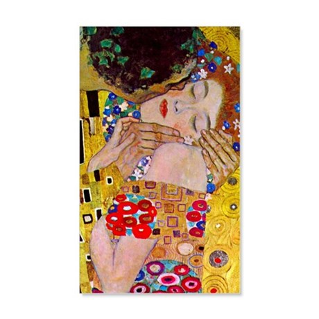 Gustav Klimt The Kiss 35x21 Wall Decal