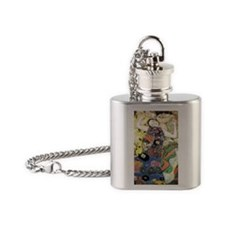 Gustav Klimt The Virgin Flask Necklace
