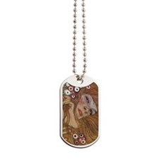 Gustav Klimt Water Serpents Dog Tags