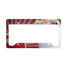 vita dopo la morte License Plate Holder