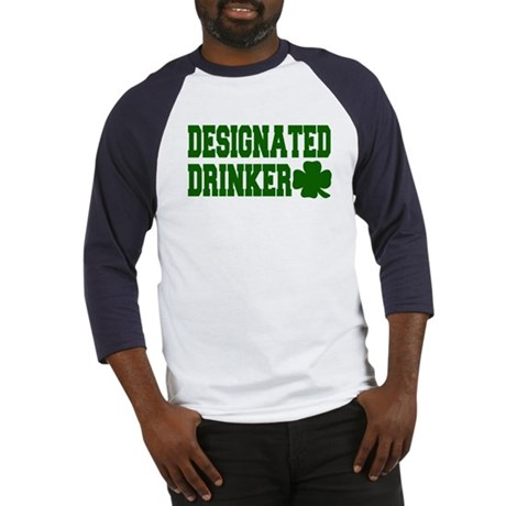 Designated Drinker Baseball Jersey