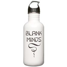 BLANK MINDS T-Shirt Water Bottle