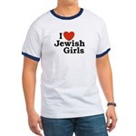 I Love Jewish girls Ringer T