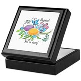 Easter Egg Rejoice Keepsake Box