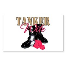 Tanker Wife Rectangle Decal