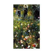 Renoir Summer Landscape Rectangle Car Magnet