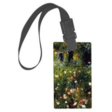 Renoir Summer Landscape Large Luggage Tag