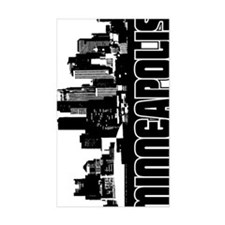 Minneapolis Skyline V Decal