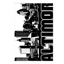 Baltimore Skyline V Postcards (Package of 8)