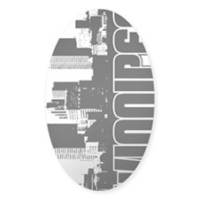 Winnipeg Skyline V Decal