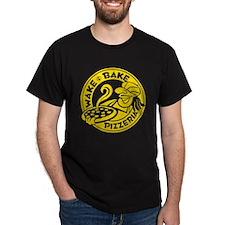 Wake & Bake Pizzeria (dark) T-Shirt