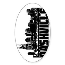 Nashville Skyline V Decal