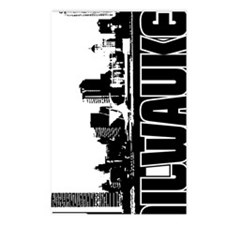Milwaukee Skyline V Postcards (Package of 8)