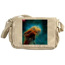 Gas pillars in the Eagle Nebula Messenger Bag