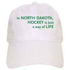 North Dakota Hockey Baseball Cap
