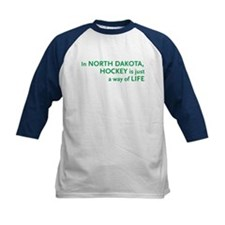 North Dakota Hockey Tee