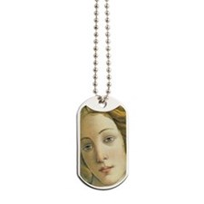 Birth of Venus Face Dog Tags