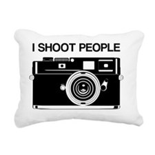 Photographer, I shoot pe Rectangular Canvas Pillow