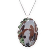 Journal Beagle Necklace